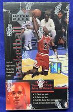 1997-98 UPPER DECK SERIES 1 FACTORY BOX POSSIBLE RARE MICHAEL JORDAN JERSEY CARD