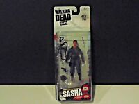 The Walking Dead AMC Series 10 Walgreens Exclusive SASHA action figure