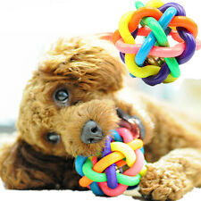 1Pc Pet Dogs Cats Chew Colorful Rubber Round Ball Fun Training Play Palying Toy