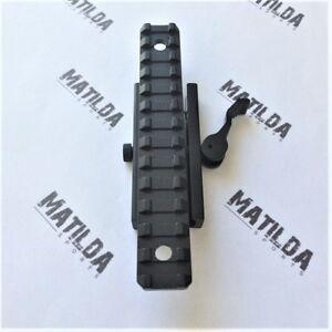Quick Release Weaver/Picatinny Rail Mount Adapter Converter 135mm
