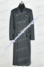 Who Cosplay Doctor Torchwood Captain Jack Harkness Costume Trench Coat Gray New