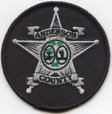 ANDERSON COUNTY SOUTH CAROLINA SC SHERIFF POLICE PATCH