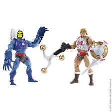 MOTUC Flying Fists He-Man & Terror Claws Skeletor Masters of the Universe New