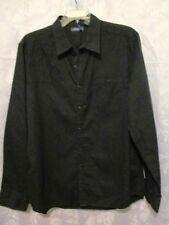 NWOT – Kenneth Cole Reaction -  Black Cotton Dress Shirt – XL - $60