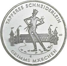 Deutschland 20 Euro 2019 Tapferes Schneiderlein Grimms Märchen Münze prägefrisch