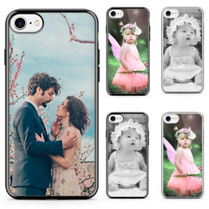 Personalised Apple iPhone case Any Photo - Text - Logo Printed on Hard Plastic,