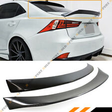 FOR 14-19 LEXUS IS300 IS350 IS200 AR STYLE CARBON FIBER TRUNK LID + ROOF SPOILER