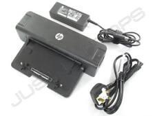 HP Compaq Elitebook 8470p 8440p USB 3.0 Docking Station Port +AC Adapter UK Plug