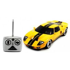 1:18 Licensed Ford GT Muscle Electric RC Car Remote Control Racing Stripe Yellow
