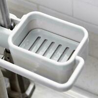 Kitchen Sink Faucet Sponge Soap Storage Organizer Shelf Rack Drain Holder V4A5