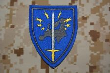 Z066 écusson insigne patch brodé militaire armée Eurocorps Corps Européen
