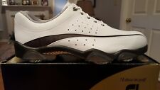 2012 Footjoy Synr-G Mens Golf Shoes 53918 NEW Wh/Grey 13M $229 Ret Beautiful