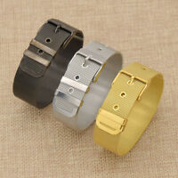 1pc Colorful Stretch Watch Band Chain Belt Bracelet Unisex Wristwatch Bangle