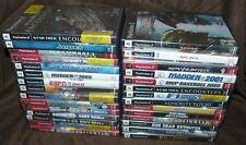 Lot of 29 Playstation 2 PS2 Games Star Wars SOCOM Call of Duty Killzone Madden+