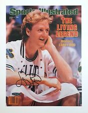 LARRY BIRD Upper Deck Holo UDA AUTOGRAPH Living Legend SPORTS ILLUSTRATED COVER