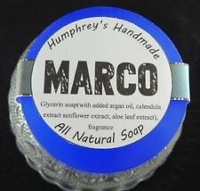 MARCO Polo Sport Men's Soap Round Glycerin Bar Shave & Shampoo Beard Wash