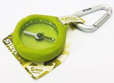 Silva Kompass Metro Compas mit Anhänger 20gr. grün mit gummiertem Gehäuse