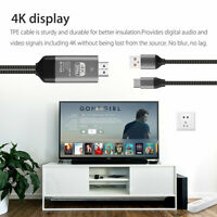 Type-C USB-C to HDMI w/Charging Cable Adapter for Samsung Galaxy S10 S9 Note 9 D