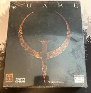 Quake - Original - PC Rare Sealed Big Box Full Registered Version US Version