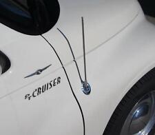 """Chrylsler PT Cruiser screw -in Chrome Aerial Antenna Mast  21"""" Long (55 cm)"""