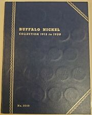 1913 - 1938 Buffalo Nickel Set Nearly Complete (62) Coin Collection in Album