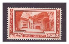 VATICANO 1938 -  ARCHEOLOGIA CRISTIANA  Cent. 10   NUOVO **