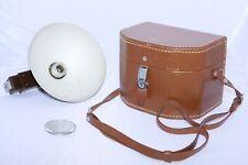 Original Bell & Howell FOTON Compartment Case with FOTON Flash & 100mm Lens Cap.