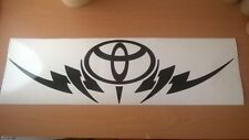 Grande Voiture Tribal TOYOTA Bonnet Capuche Vinyle Sticker Autocollant Graphique Fenêtre Arrière fun