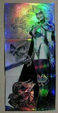 Lady Death-Hope-Joseph Linsner-CHAOS Comics!-Comic-Book-Sexy-3 card-Trading Card