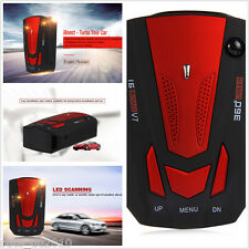 Car Radar Detector Laser Speed Detector V7 Cobra 16 Band English Russian Red New