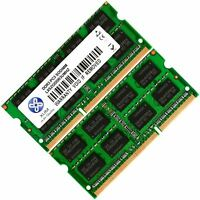 Memoria Ram 4 Toshiba Satellite Laptop L630-14C L630-14M L630-15G 2x Lot