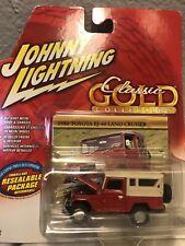 Johnny Lightning 1980 Toyota BJ-40 Land Cruiser Classic Gold