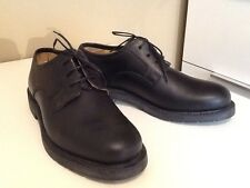 Loake Men's 501B Black Leather TR Rubber Soles Shoes Size UK7
