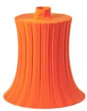 Ikea new Lamp shade ÄMTEVIK Orange 37 cm
