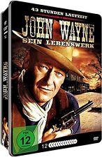 35 Oeste Clásicos JOHN WAYNE SEIN LEBE ERK 43 Horas 12 Caja de DVD METALLBOX