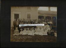 1910 Wedding Reception Photo Degenfelder - Bantle Langford NY 10 x 12 N Collins