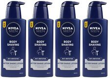 4 x NIVEA MEN 240mL AFTER SHAVE LOTION BODY SHAVING 100% Brand New