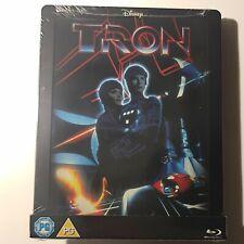 TRON: The Original Classic Blu-ray steelbook Zavvi UK Ltd Region Free Fr/Sp New