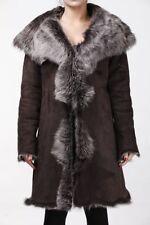 Autres manteaux marrons en fourrure pour femme