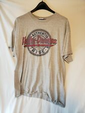 Harley's Davidson Mens XL Gray Short Sleeve T Shirt XLarge Buffalo NY Authentic