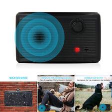 Ultrasonic Pet Dog Anti Barking Device Bark Stop Repeller Sonic Silencer Outdoor