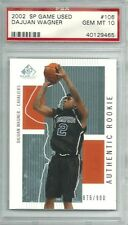Dajuan Wagner 2002-03 SP Game Used Edition Auth. Rookie 876/900 PSA GEM MT 10