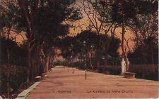 Spain Algeciras - La Alameda de Maria Cristina circa 1920 unused postcard