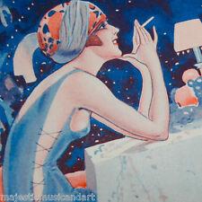 LA VIE PARISIENNE Vald'Es. 1923 ORIGINAL ART PRINT OFFSET LITHO PARIS RARE