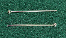 Ball Headpin Findings - Sterling Silver (Sold in Packs of 10)