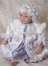 "Crochet pattern Baby/Reborn: Coat/Hat ""Verity"", MPN CRO132 by Frandor Formats"