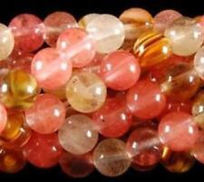 "8mm Watermelon Tourmaline Gems Round loose Bead 15"" LL003"