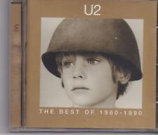 U2-The Best Of 1980-1990 cd album