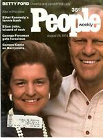 Gerald & Betty Ford People Magazine August 26, 1974 with label