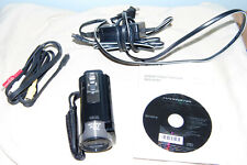 New ListingSony Dcr-Sx85 Camcorder - Black - Excellent condition with accessories shown